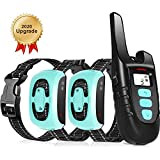 TOKEGO Dog Training Collar 2 Dogs, 3 Training Modes,1500FT Remote Rechargable & Waterproof Dog Collar for Small,Medium and Large Dogs