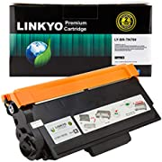 LINKYO Compatible Toner Cartridge Replacement for Brother TN750 TN-750 TN720 (Black, High-Yield)