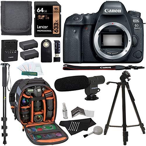 Canon EOS 6D Mark II - Bundle 3