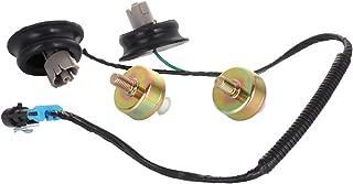 OCPTY Knock Detonation Sensors with Harness Pair kit Set for 1999-2004 Chevrolet Silverado 2500/ Corvette/GMC Sierra 2500 2005 Hummer H2 2004-2005 Cadillac CTS/CTS-V