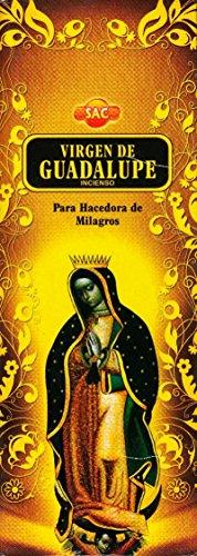 Incienso Virgen de Guadalupe - 120 palos caja