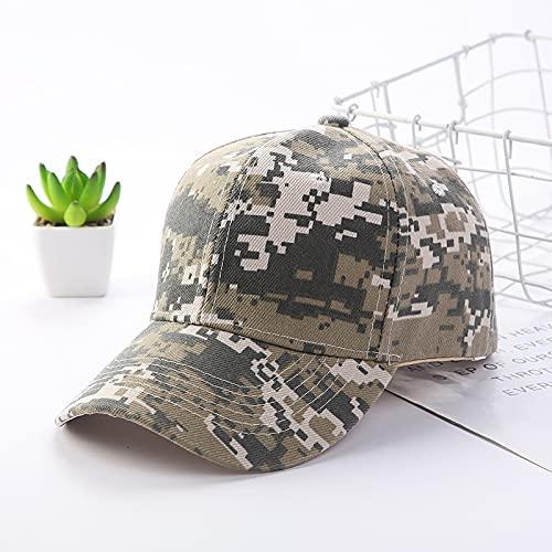 Gorra Camuflaje ajustable largo beansbol gorra de béisbol primavera verano sombra al aire libre hombres mujeres impresión papá sombrero pico gorra Sombreros y gorras ( Color : 02 , Size : Adjustable )