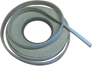 1/2' x 1/8' Nomex High Temp BBQ gasket smoker pit seal, self stick