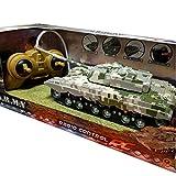 Toi-Toys RC Ferngesteuerter Panzer Spielzeugpanzer Militärfahrzeug Army 360°, 1:32