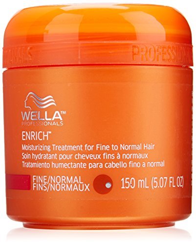 Wella Enrich Moisturizing Treatment for Fine to Normal Hair for Unisex, 5.07 Ounce