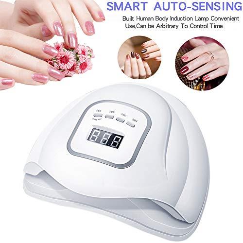 150W LED Nail Lamp Auto Sensor Nail Dryer Machine Dual 45 Stuks LED Lamp Voor Het Genezen Gel Nail Polish Met LCD-Scherm Motion Detection