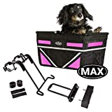 TRAVELIN K9 Pet-Pilot MAX Dog Bicycle Basket Carrier | 8 Color Options for Your...