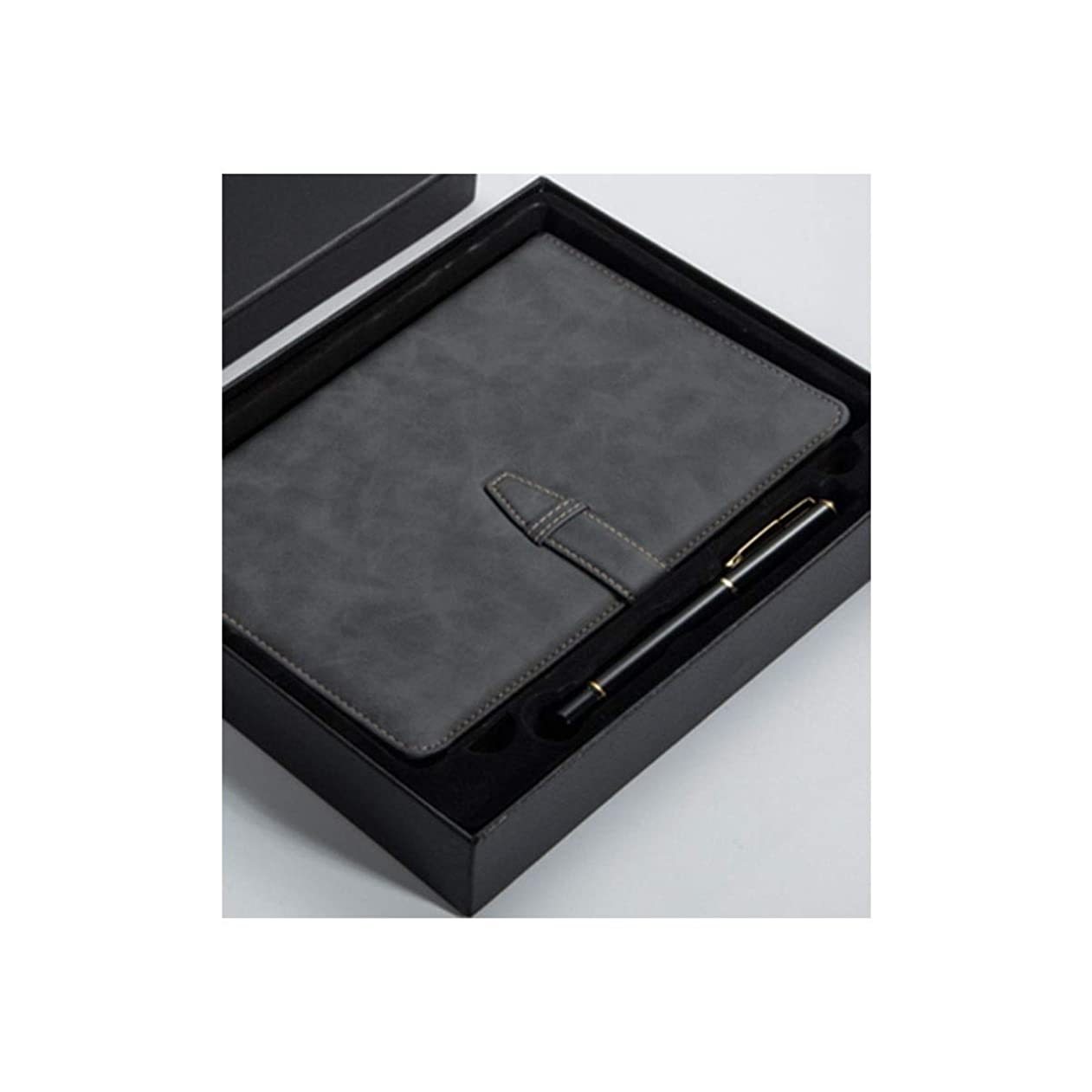 Guyuexuan ギフトノートとペンセットギフトボックス、ノートセット、ホリデーギフト、ノートブック、ビジネス会議仕事メモ帳、複数の色 高品質の製品 4 (Style : A)