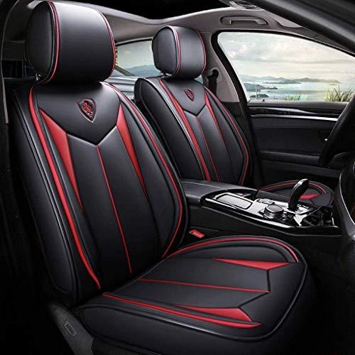 Asiento de coche cubierta del coche Protector de asiento asientos accesorios del coche Covers Set, asientos delanteros de cuero cubiertas de asientos universales y los asientos traseros Juego completo