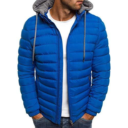 ZGRNPA Herren Steppjacke Optik mit Stehkragen   gefütterte sportliche Übergangsjacke Moderne leichte Winterjacke modische Jacke für Männer Beheizte Jacke Beheizte Kleidung Winter Warme Leichte
