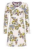 Ringella Bloomy Damen Nachthemd mit V-Ausschnitt mandelblüte 38 0551001, mandelblüte, 38