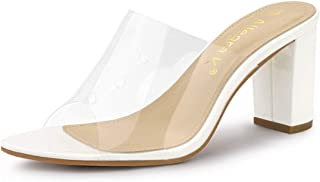 clear heels - 9.5 / Shoes / Women