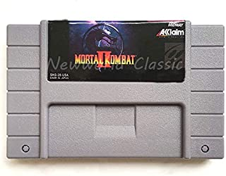 Memory Cards - Mortal Kombat Series USA Version for 16 bit Gray Video Game Cartridge Card For NTSC Game Player (Mortal Kom...