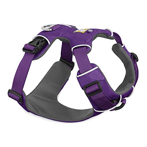 RUFFWEAR – Front Range Dog Harness, Reflective and Padded Harness for Training and Everyday, Tillandsia Purple (2017), Large/X-Large
