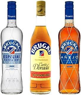 Brugal Rum Mischpaket Cocktail 3 x 0,7 l