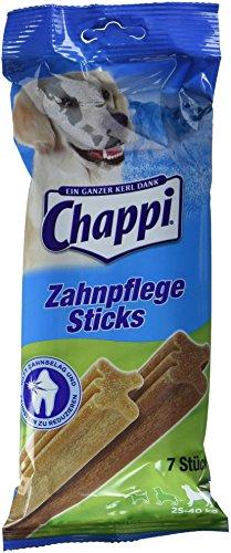 Chappi | Snack Zahnpflegestick große Hunde | 10 x 1 x 7 Stück