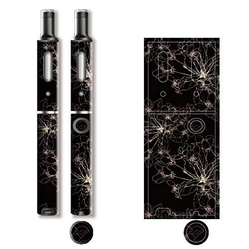 電子たばこ タバコ 煙草 喫煙具 専用スキンシール 対応機種 プルーム テック プラス Ploom TECH+ Ploom Tech Plus 和柄モチーフデザイン 09 和柄 01-pt08-0031