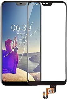 LENASH Touch Panel för Nokia X6 (2018) Skärmglasbyte (Color : Black)