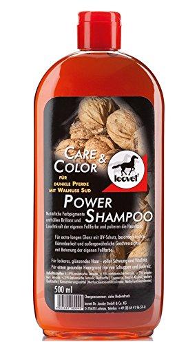 Leovet Power Shampoo walnuss für dunkle Pferde | 500ml