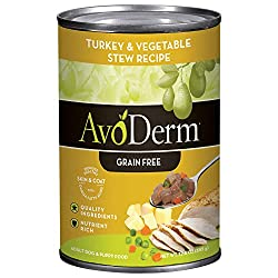 AvoDerm Natural All Life Stages Wet Dog Food, For Skin & Coat