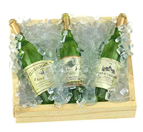 ARUNDEL SERVICES EU 1:10 Botella de Vino en el Hielo Botellas de Vino Accesorios en Miniatura Modelo Traxxas TRX-4 RC4WD RC Crawler DX Axial SCX10 90046