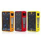 Sigelei Kaos Z 200W Akkuträger Box Mod (Gelb, Rot, Orange, Schwarz) Wechselbare LED-Leuchten zusammen mit einer pulsierenden LED-Lampe (Gelb)