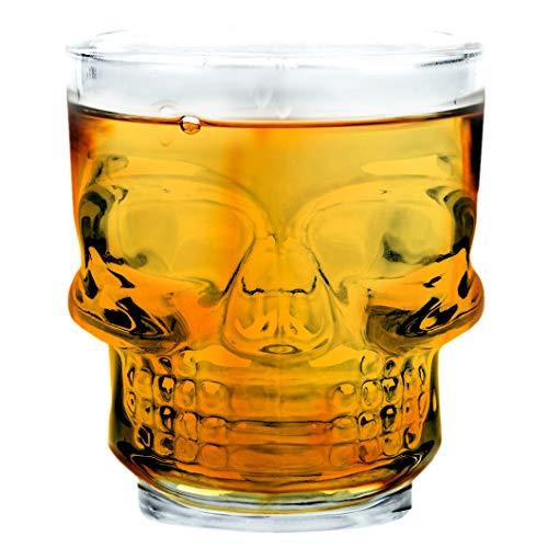Vinbouquet Fia 471 Juego de 4 vasos de cristal para whisky, vodka,...
