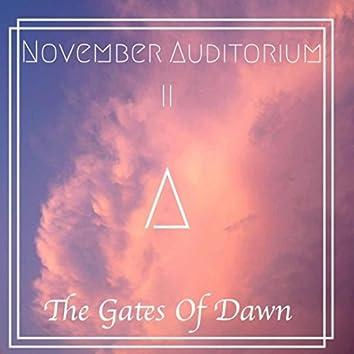 November Auditorium II: The Gates of Dawn