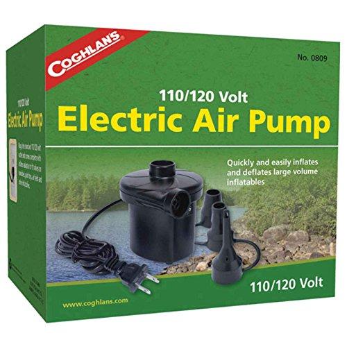 Coghlans 0809Plug-in Elektrische Luftpumpe, 4, 120.0 volts