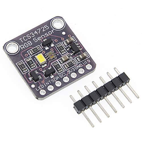 QBLDX Sensor De Color RGB CJMCU-34725 TCS34725 Módulo De Placa De Desarrollo De Sensor De Color