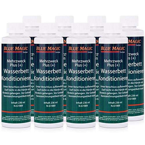 Blue Magic Wasserbett Konditionierer 8x 236ml Sparpaket Mehrzweck Plus(+)