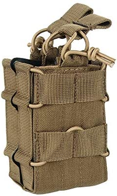 EXCELLENT ELITE SPANKER Tactical Molle Single Double Open Top Mag Pouch for M4 M14 M16 AR15 product image