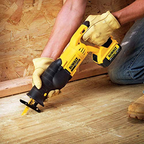 DEWALT 20V MAX Cordless Reciprocating Saw Kit (DCS380P1)