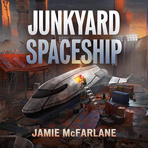 『Junkyard Spaceship』のカバーアート
