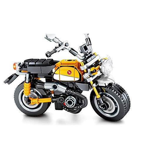 CYGG Technic Motorbike Building Kit, 221pcs Motorcycle Blocks Modelo de exhibición Superbike para Adultos, niños compatibles con Lego