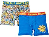 Pokemon Big Boys 2-pk. Character Boxer Briefs (8)