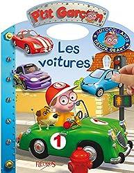 Cahiers d'activités pour les plus petits P'tit garçon : autocollants et décor géant - Les voitures