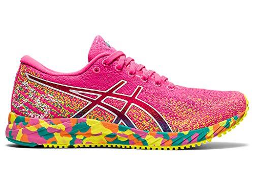 ASICS Women's Gel-DS Trainer 26 Running Shoes, 5.5M, HOT Pink/Sour Yuzu