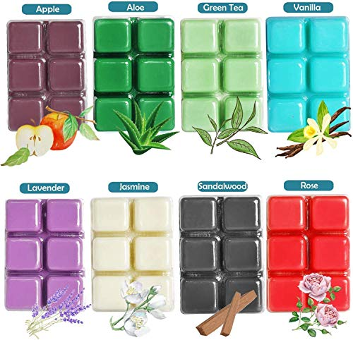 Scented Wax Melts, 8x2.5 oz, Wax Cubes, Scented Soy Wax Melts