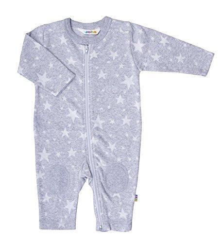 Joha - bébé Jeunes Filles Combinaison Star Jacquard avec étoiles en Gris - Gris, 50 (0 Mois)