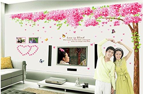 mondial-fete – zelfklevende sticker terug bruiloft (230 x 260 cm)