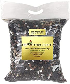 Phalaenopsis Monterey Dark Imperial Orchid Mix by rePotme - (Mini Bag)