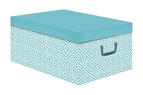 Compactor Nordic – Caja de cartón, Color Azul báltico,