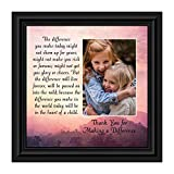 Crossroads Home Décor Teacher Gifts to Say Thank You, Principal Gifts or Daycare Teacher Gifts, You Make a Difference Quote Thanking Those Who Work with Children, Teacher Appreciation Gifts, 6394B
