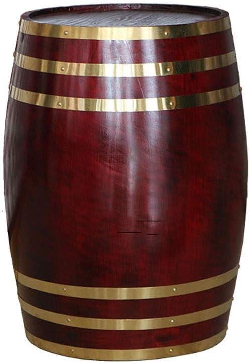 MAGFYLY Barril de Vino de Madera Cubo de envejecimiento del Roble 10L, con Cubo de Whisky Poseedor para elaborar Cerveza Vino o almacenar Cerveza Whisky