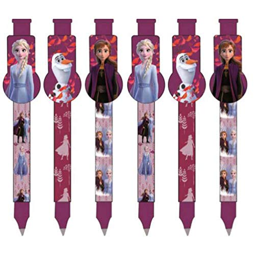 Set of 3 Ice Magic Pens Compatible with Disney Frozen 2 The Frozen | Gift for Girls | Anna and Elsa | My Destinys Calling | Pen | Olaf |