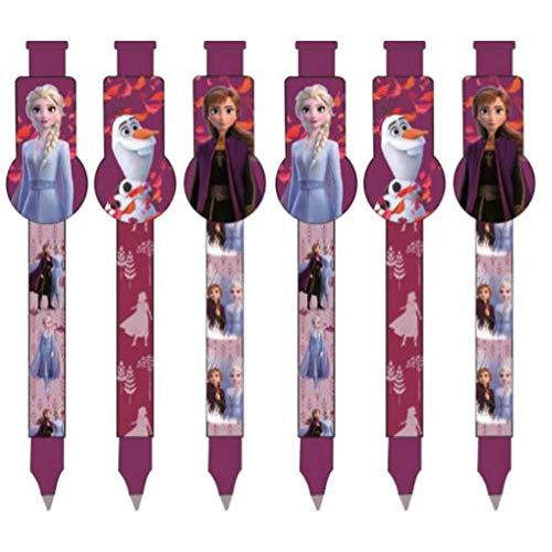 3er Set Ice Magic Schreiber, kompatibel zu Disney Frozen 2 Die Eiskönigin | Geschenk für Mädchen | Anna und Elsa | My Destinys Calling | Stift | Olaf |