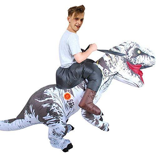 V1 Clothing CO Disfraces Rendimiento Adultas De La Fiesta De Halloween Dinosaurio Tyrannosaurus Monte Hinchables Inflables De Dibujos Animados C-150-190cm