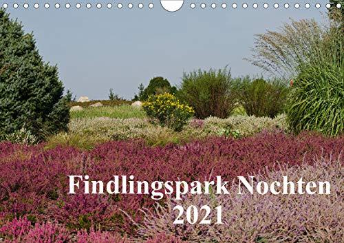 Findlingspark Nochten 2021 (Wandkalender 2021 DIN A4 quer)