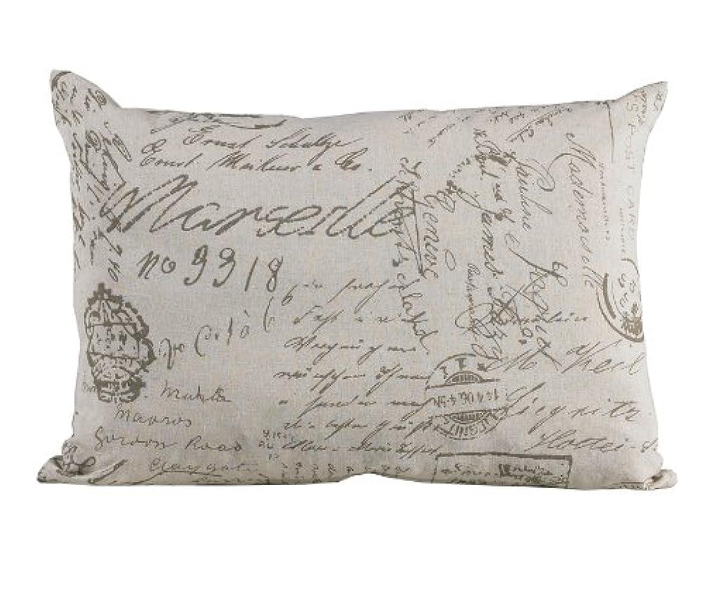 溶接ベイビー手のひらHiEnd Accents Fairfield Printed Linen Pillow by HiEnd Accents